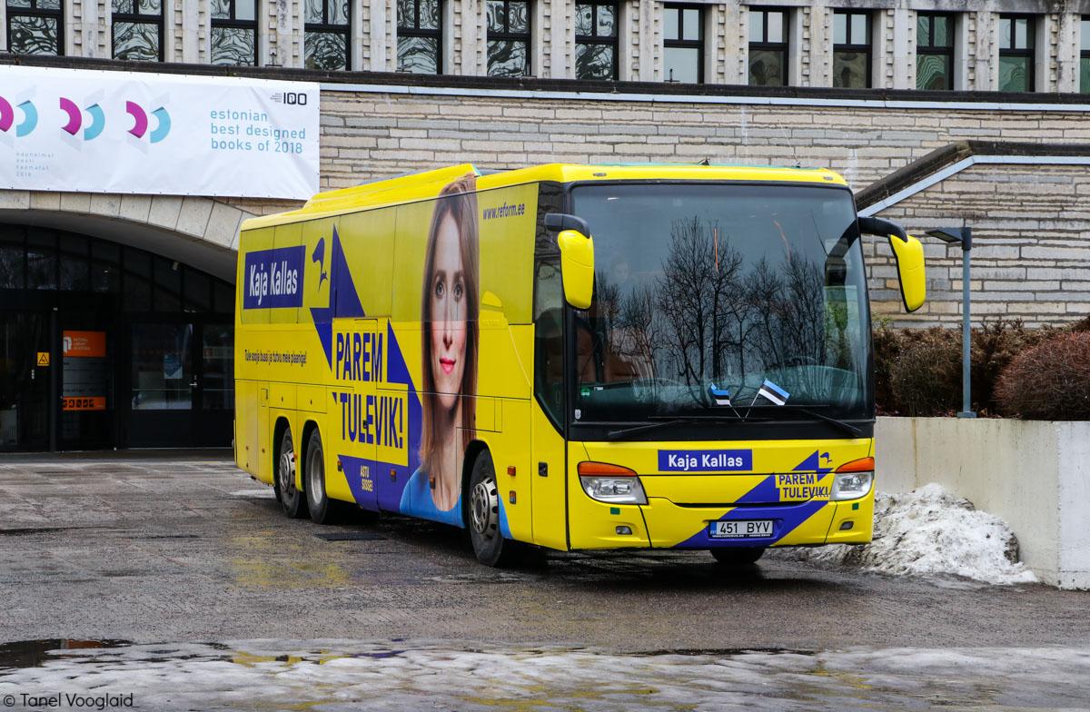 Tallinn, Setra S416GT-HD/3 № 451 BYV
