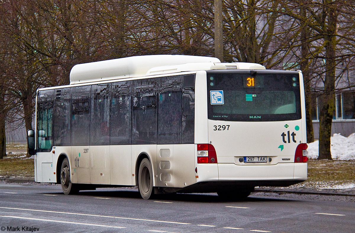 Tallinn, MAN A21 Lion's City NL313 CNG № 3297