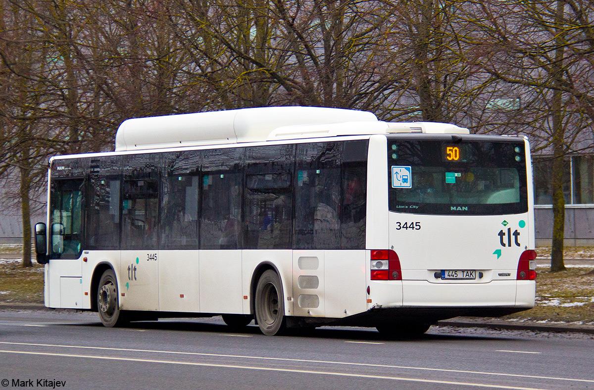 Tallinn, MAN A21 Lion's City NL313 CNG № 3445