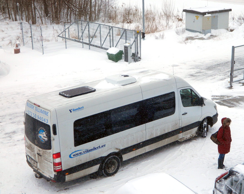 Tallinn, Mercedes-Benz Sprinter 516CDI № 970 BMB
