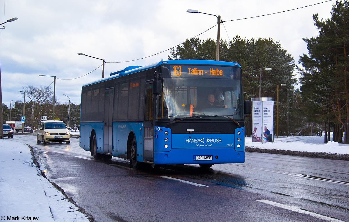 Tallinn, Vest Center H № 378 MSF