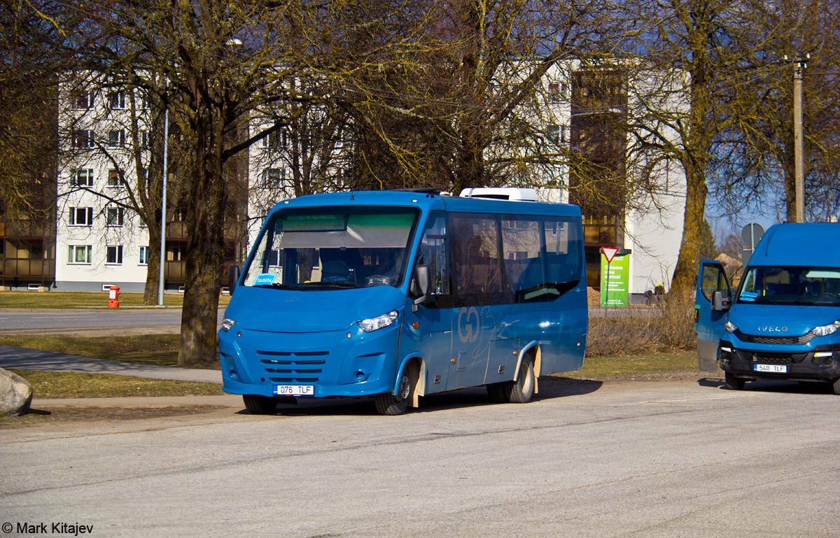Põlva, Kapena Thesi Intercity № 076 TLF