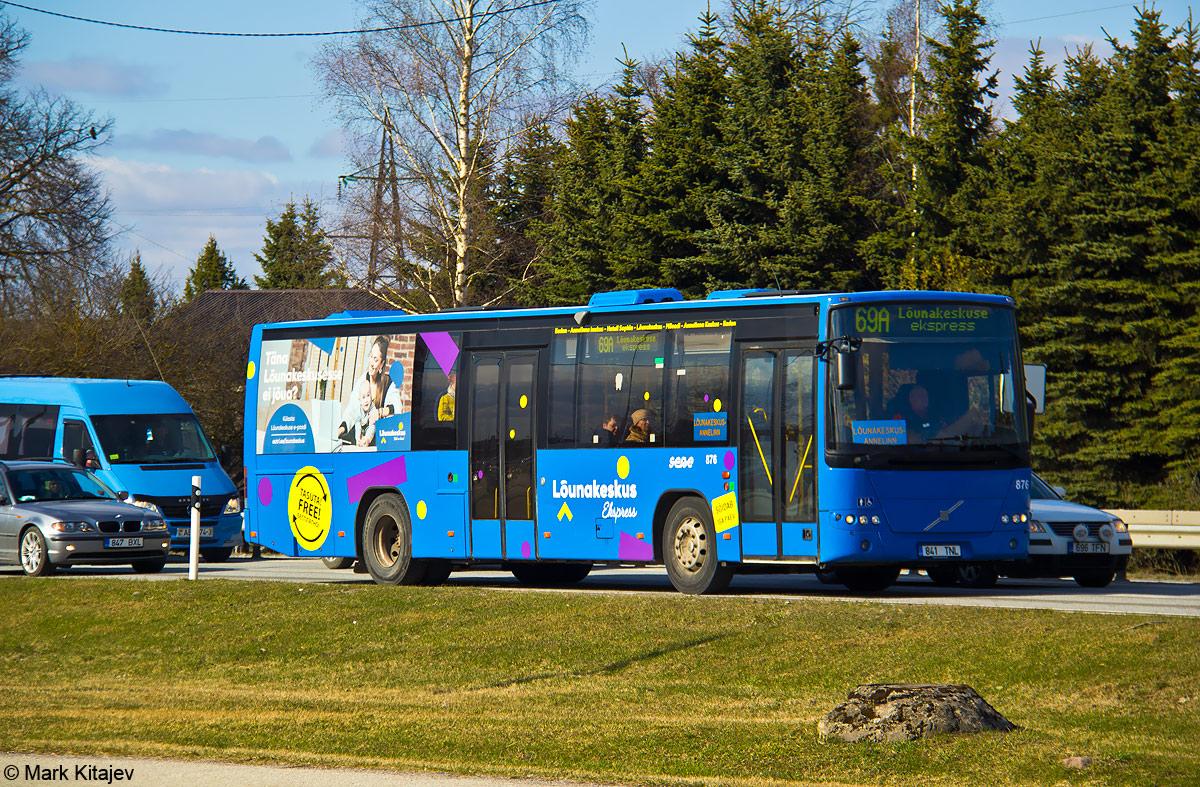Tartu, Volvo 8700LE № 876