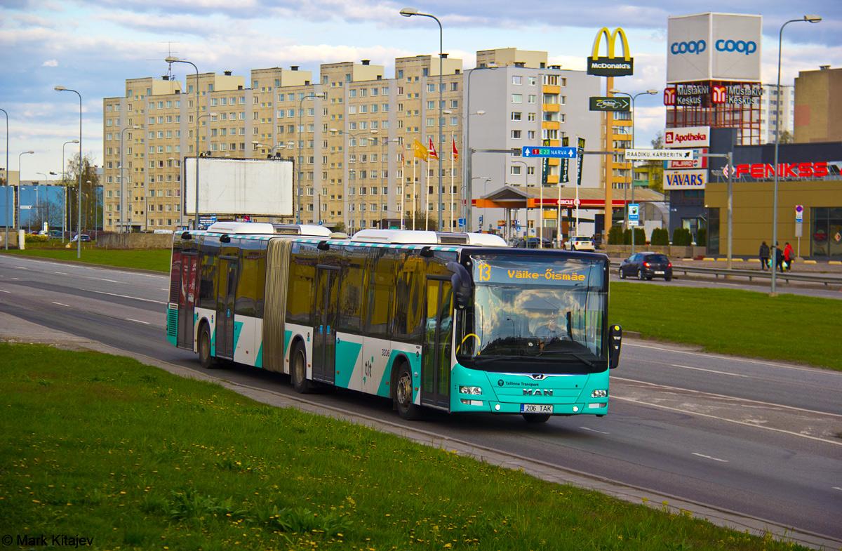 Tallinn, MAN A40 Lion's City GL NG323 № 3206