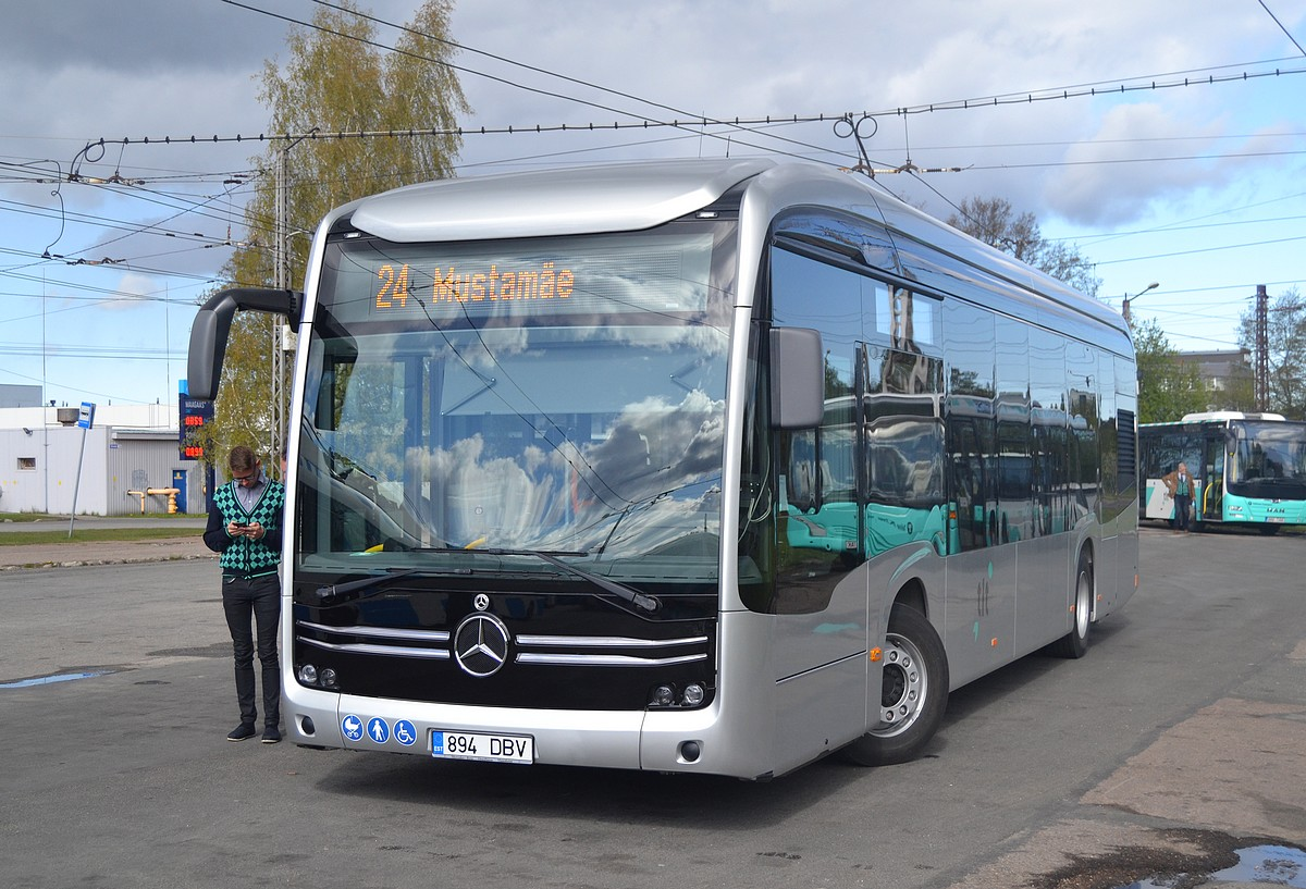 Tallinn, Mercedes-Benz eCitaro № 1000