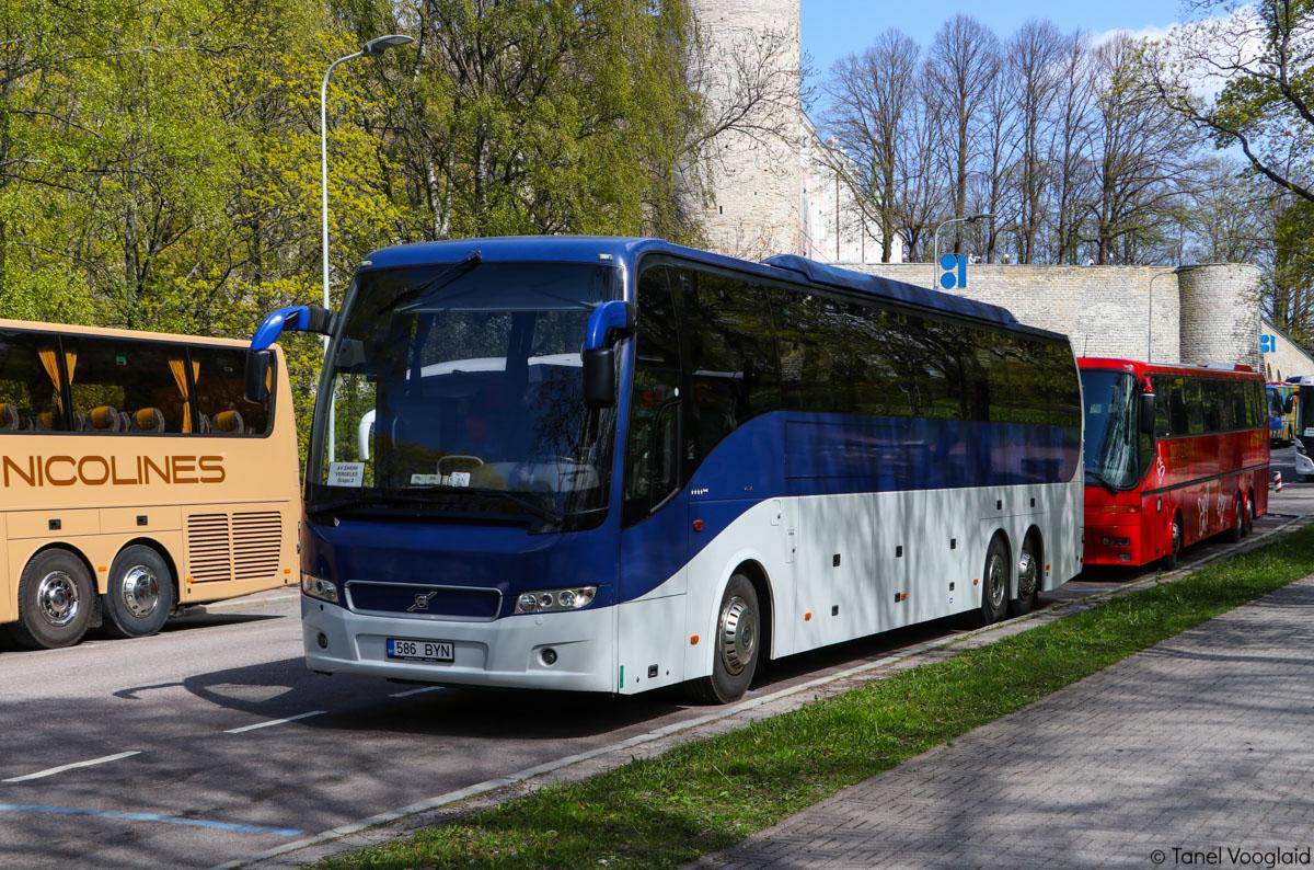 Tallinn, Volvo 9700HD NG № 586 BYN