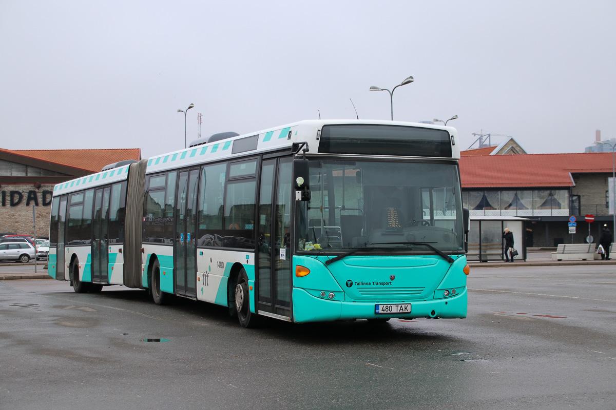 Tallinn, Scania OmniLink CK310UA 6X2LB № 1480