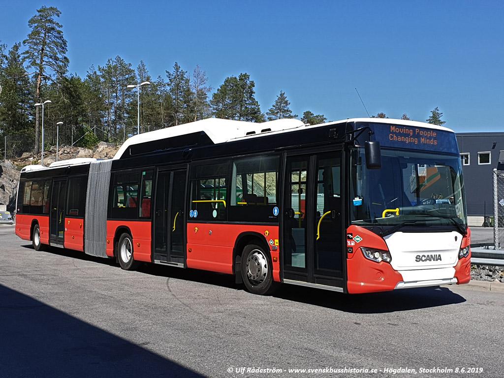 Tartu, Scania Citywide LFA CNG № 744 Tartu — Linnaliinide gaasibussid