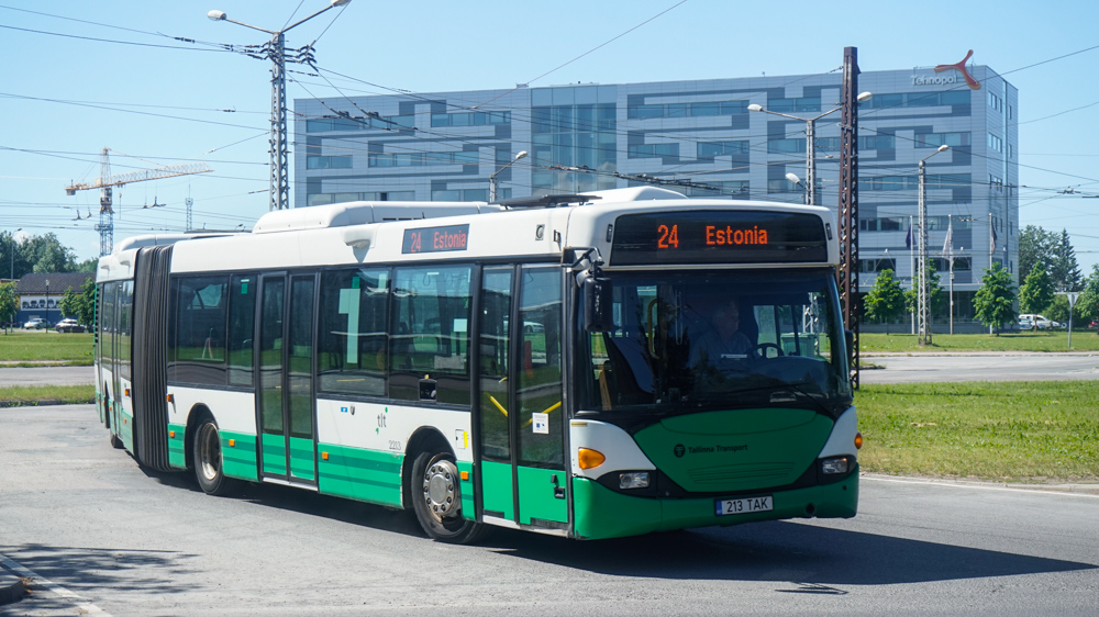 Tallinn, Scania OmniCity CN94UA 6X2 № 2213