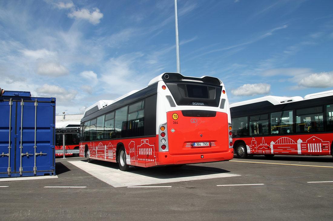 Tartu, Scania Citywide LF CNG № 364 Tartu — Linnaliinide gaasibussid