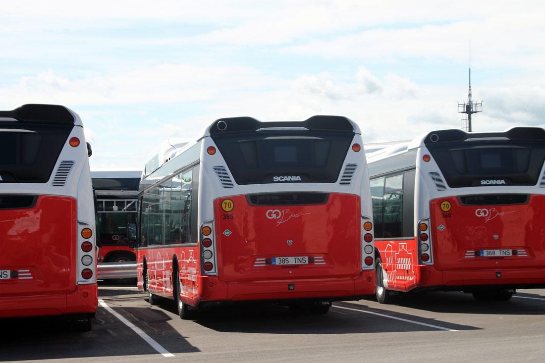 Tartu — Linnaliinide gaasibussid