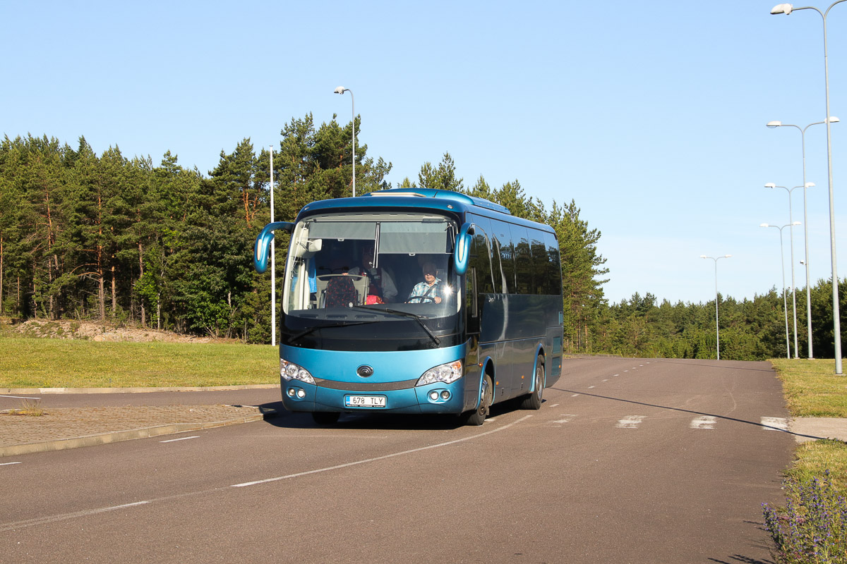 Kuressaare, Yutong ZK6938HQ № 678 TLY