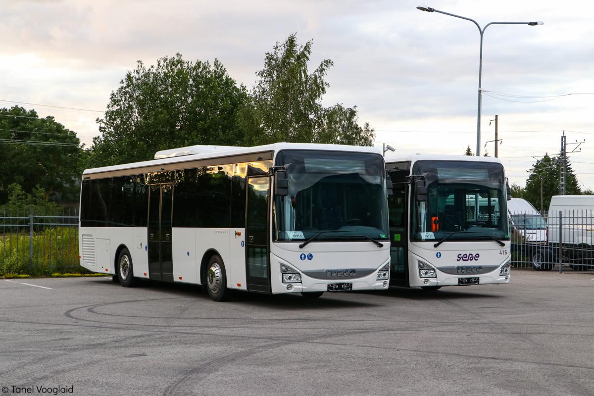 Tallinn, IVECO Crossway LE Line 10.8M № 421 Maardu — SEBE AS uuendused aastal 2019