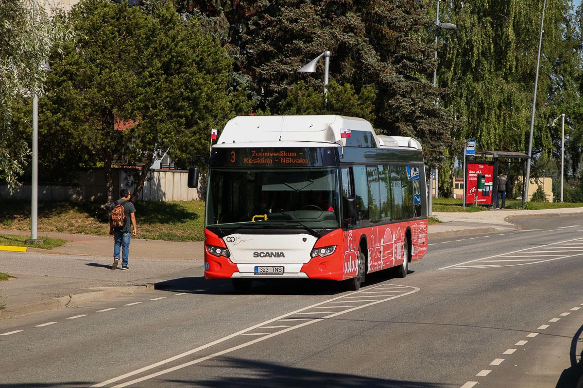 Tartu, Scania Citywide LF CNG № 323