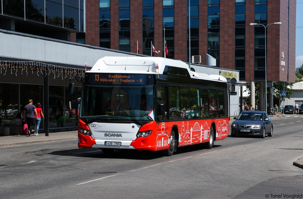 Tartu, Scania Citywide LF CNG № 439 Tartu — Linnaliinide gaasibussid