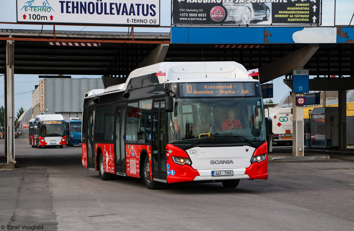 Tartu, Scania Citywide LF CNG № 441 Tartu — Linnaliinide gaasibussid