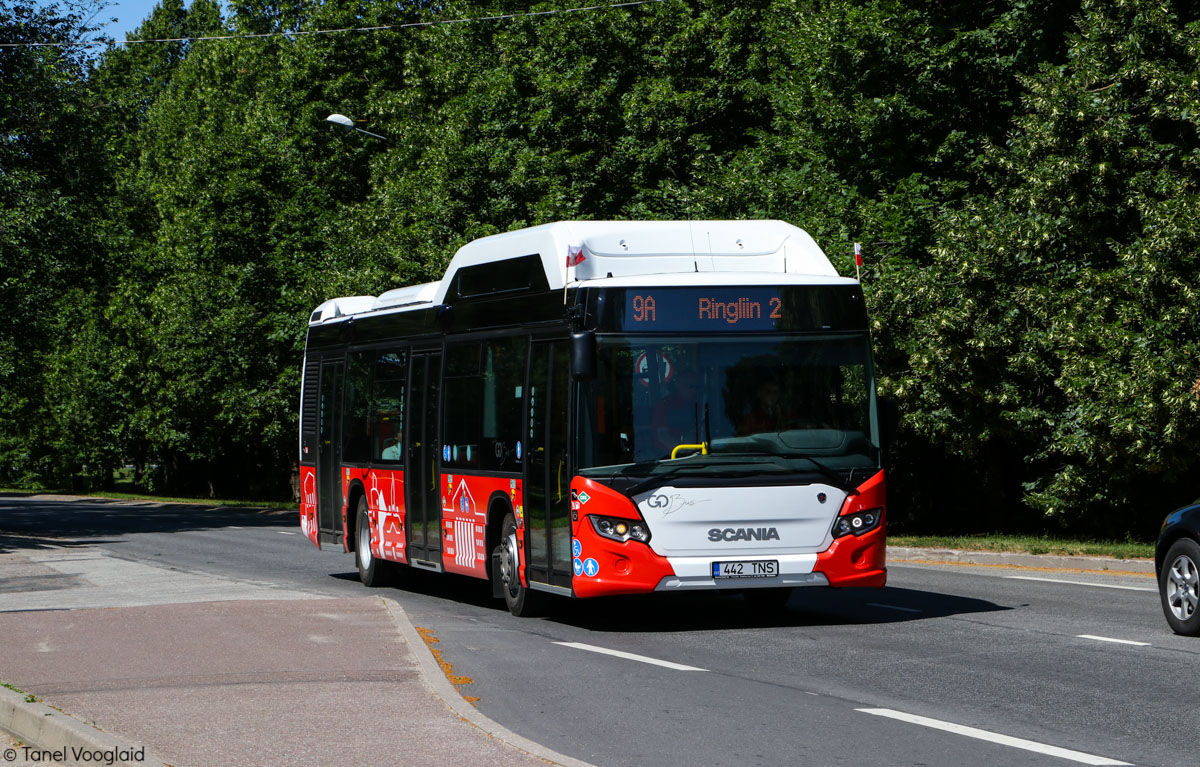 Tartu, Scania Citywide LF CNG № 442 Tartu — Linnaliinide gaasibussid