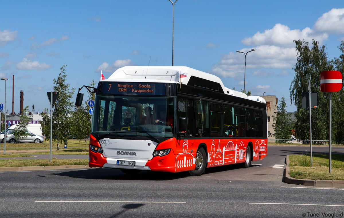 Tartu, Scania Citywide LF CNG № 317 Tartu — Linnaliinide gaasibussid