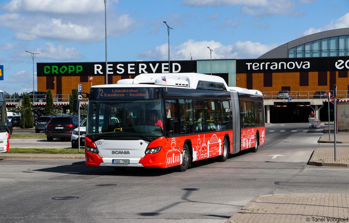 Tartu, Scania Citywide LFA CNG № 524 Tartu — Linnaliinide gaasibussid