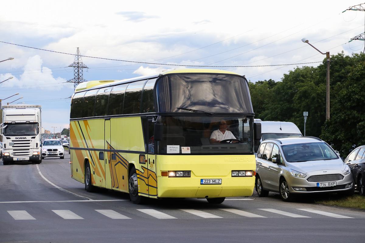 Tallinn, Neoplan N116 Cityliner № 223 MLZ Tallinn — XXVII laulu- ja XX tantsupidu (Minu arm)