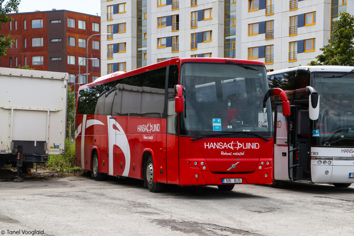 Pärnu, Volvo 9900 № 515 BJS Tallinn — XXVII laulu- ja XX tantsupidu (Minu arm)