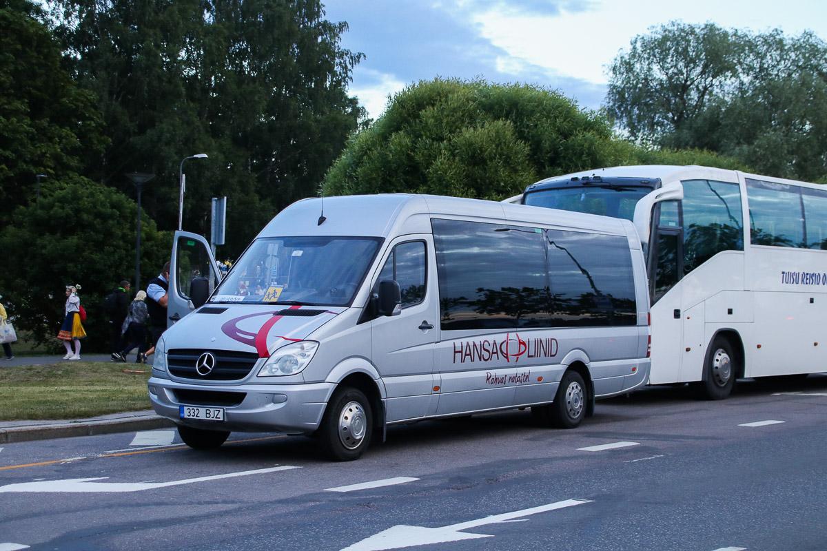 Viljandi, Mercedes-Benz Sprinter 519CDI № 332 BJZ Tallinn — XXVII laulu- ja XX tantsupidu (Minu arm)