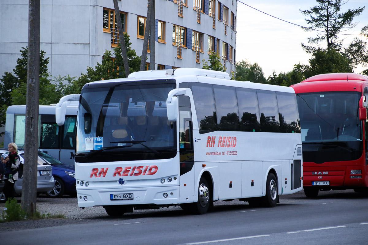 Kuressaare, TEMSA MD 9 № 075 BXD Tallinn — XXVII laulu- ja XX tantsupidu (Minu arm)