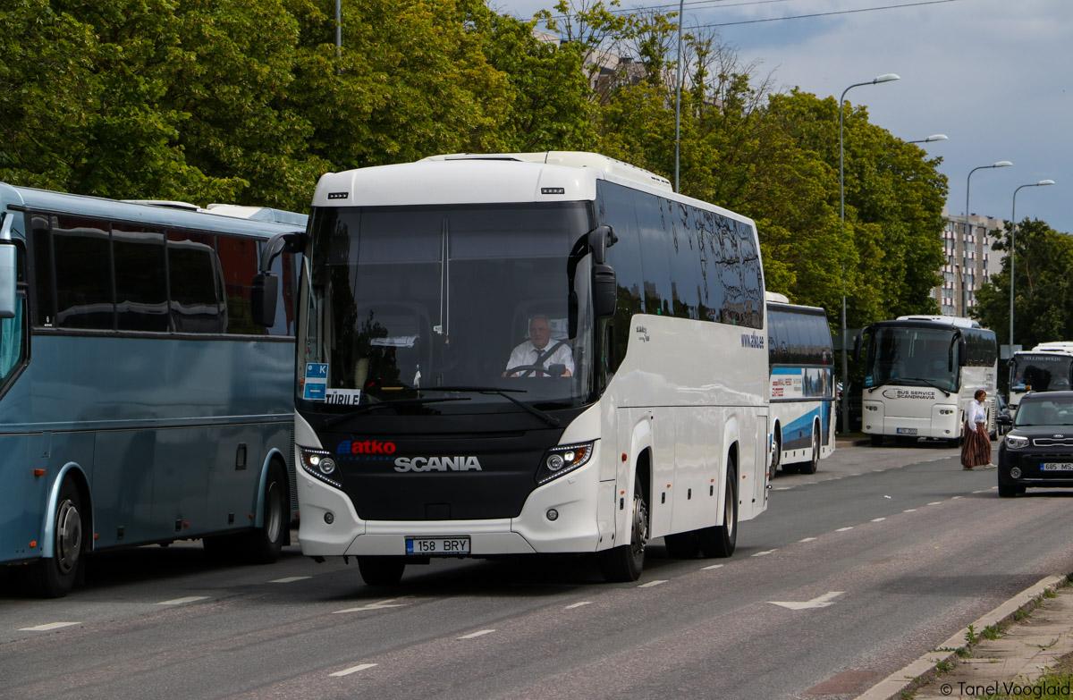 Tallinn, Scania Touring HD (Higer A80T) № 158 BRY Tallinn — XXVII laulu- ja XX tantsupidu (Minu arm)