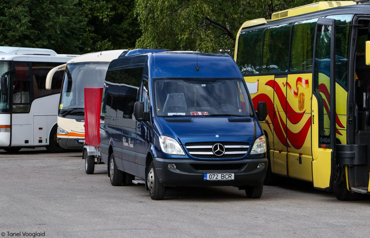 Vändra, Mercedes-Benz Sprinter 516CDI № 072 BCR Tallinn — XXVII laulu- ja XX tantsupidu (Minu arm)