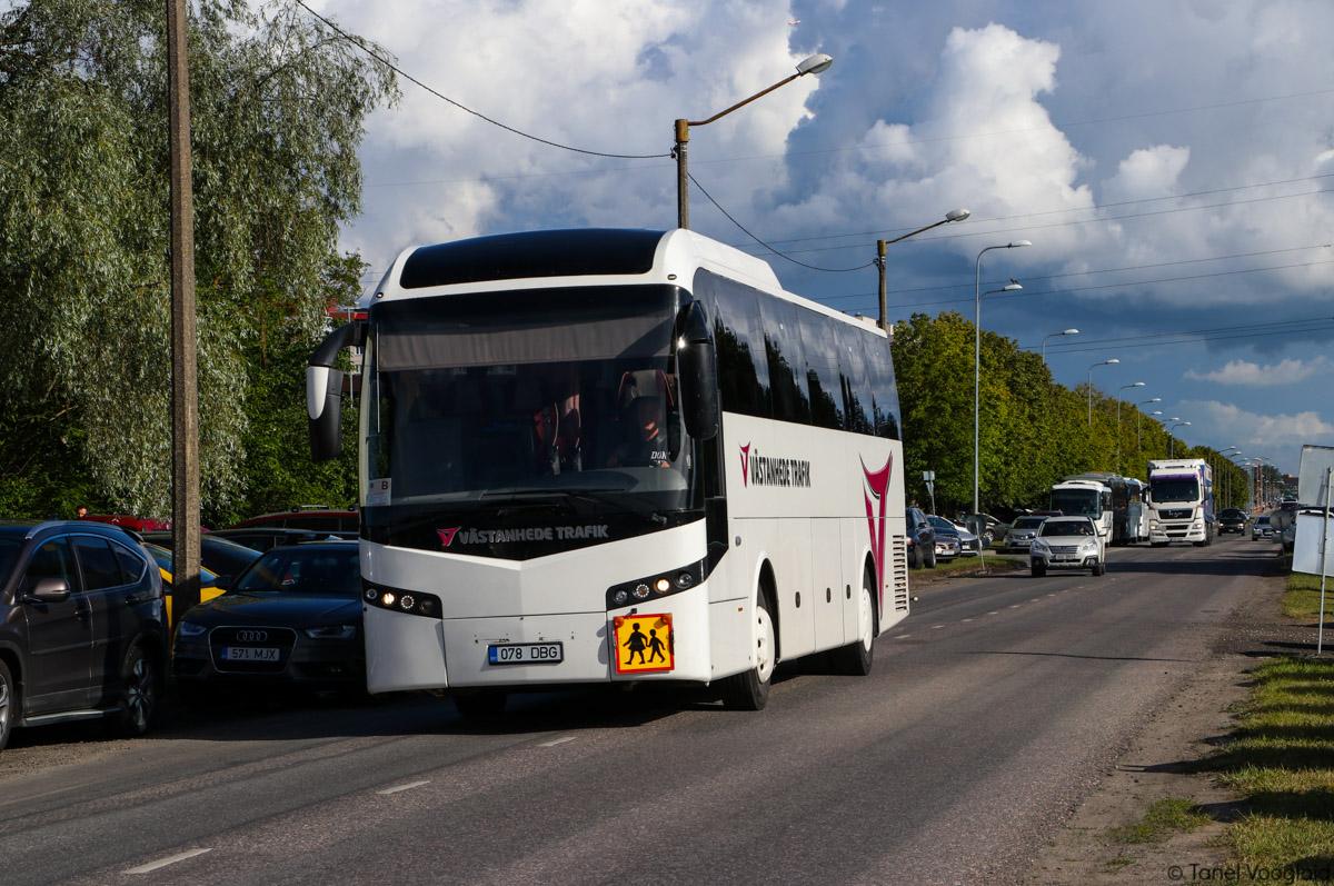 Narva, VDL Jonckheere JHD-122 № 078 DBG Tallinn — XXVII laulu- ja XX tantsupidu (Minu arm)