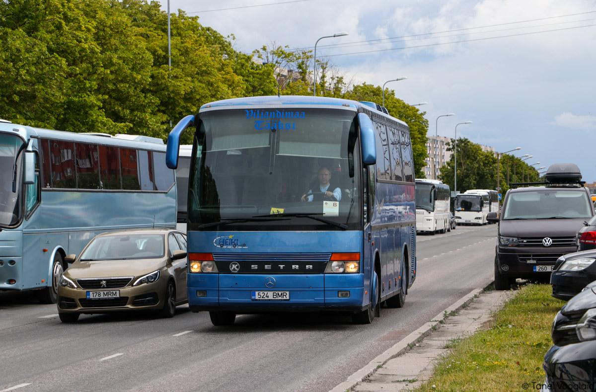 Viljandi, Setra S309HD № 524 BMR Tallinn — XXVII laulu- ja XX tantsupidu (Minu arm)
