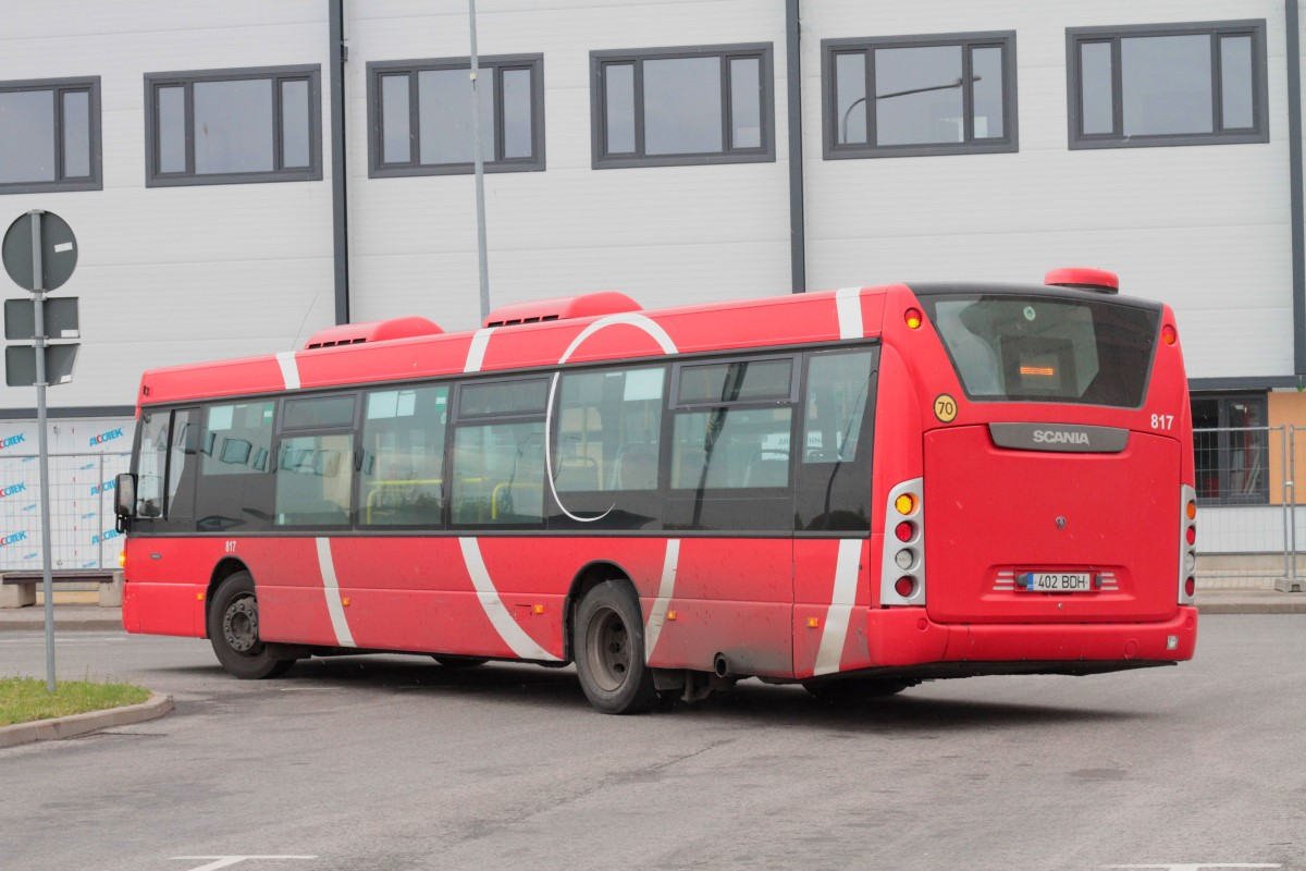 Tartu, Scania OmniCity CN230UB 4X2EB № 817