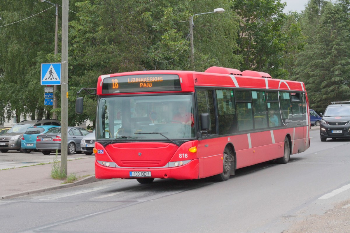 Tartu, Scania OmniCity CN230UB 4X2EB № 816