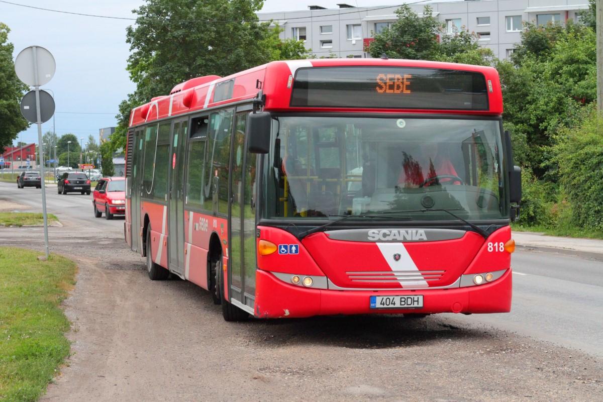 Tartu, Scania OmniCity CN230UB 4X2EB № 818
