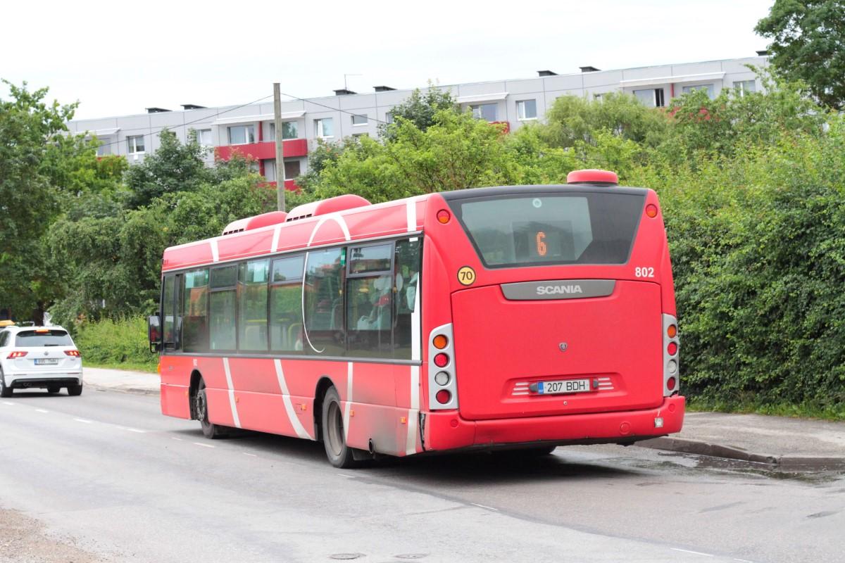 Tartu, Scania OmniCity CN230UB 4X2EB № 802