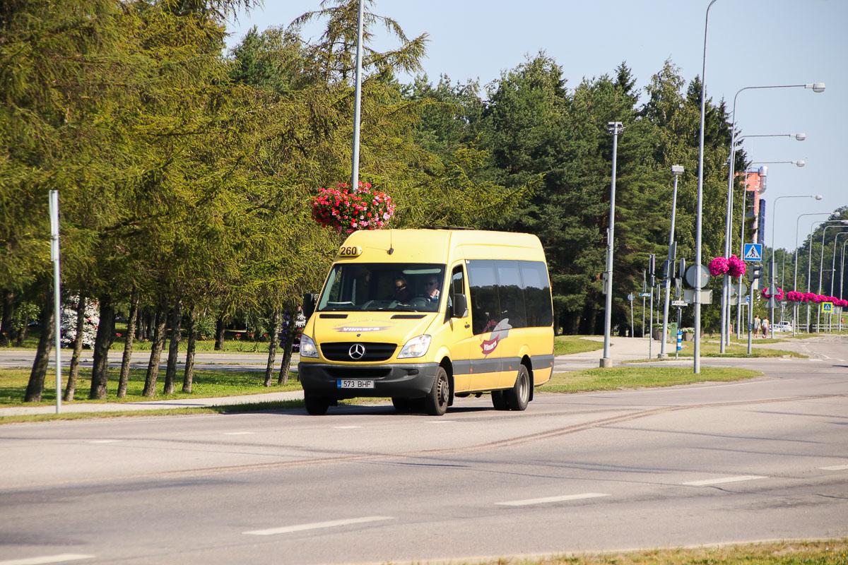 Tallinn, Mercedes-Benz Sprinter 516CDI № 573 BHF