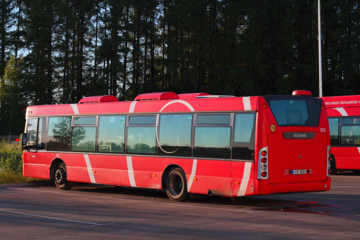 Tartu, Scania OmniCity CN230UB 4X2EB № 822