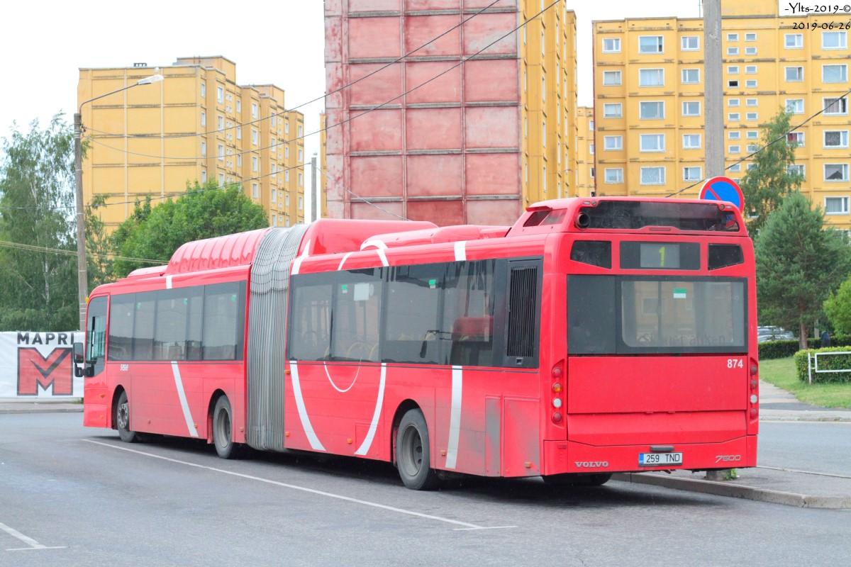 Tartu, Volvo 7500 № 874