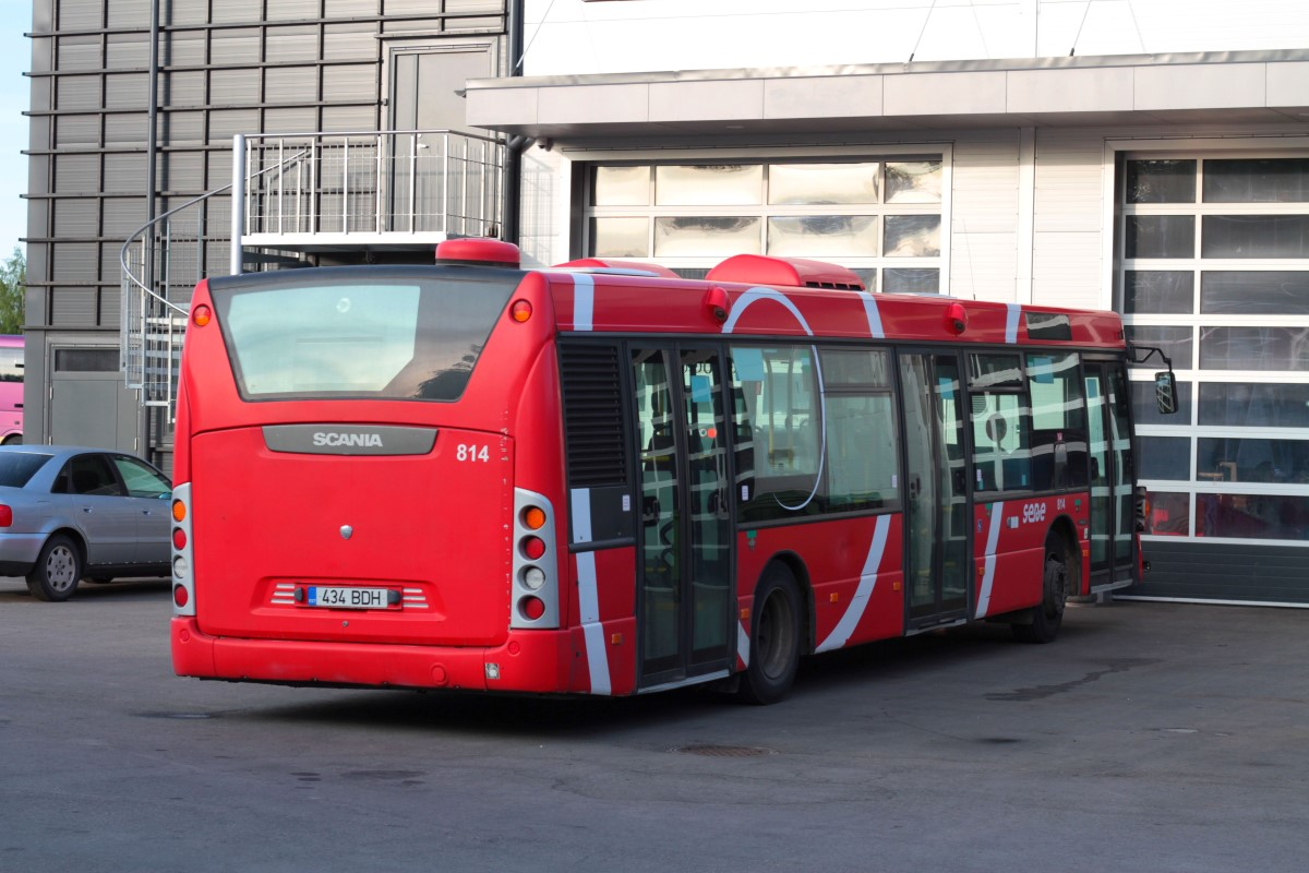 Tartu, Scania OmniCity CN230UB 4X2EB № 814