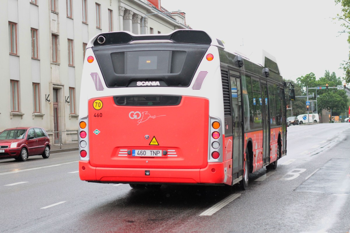 Tartu, Scania Citywide LF CNG № 460