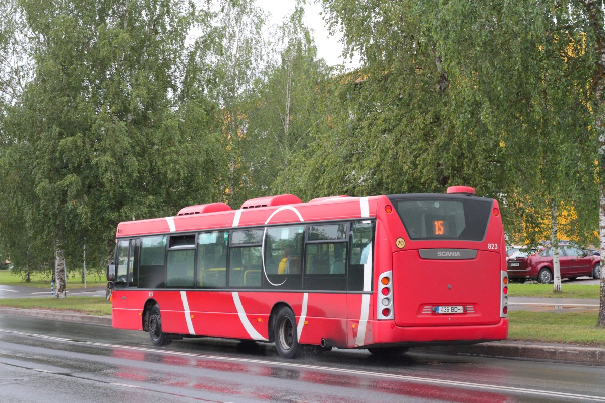 Tartu, Scania OmniCity CN230UB 4X2EB № 823
