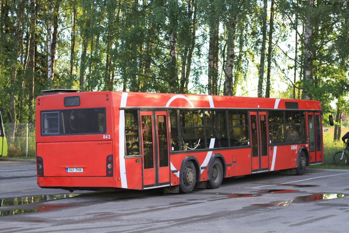 Tartu, МАЗ-107.469 № 843