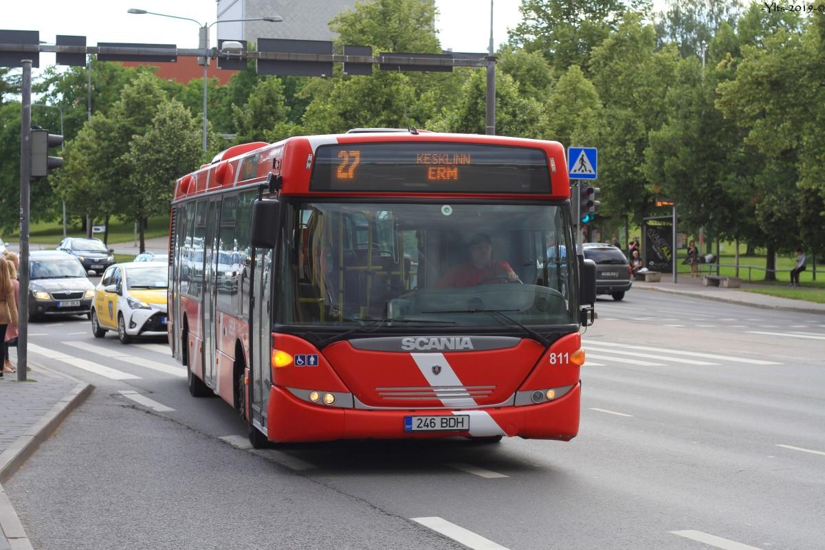 Tartu, Scania OmniCity CN230UB 4X2EB № 811