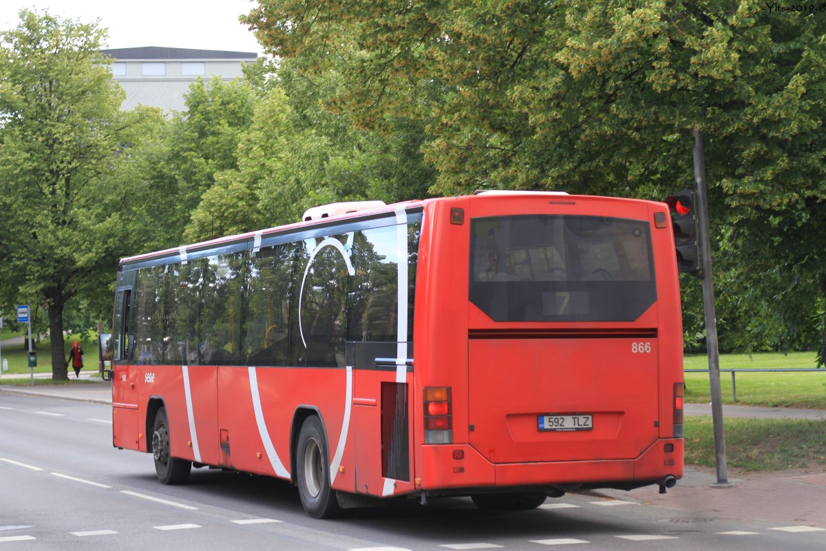 Tartu, Volvo 8700LE № 866