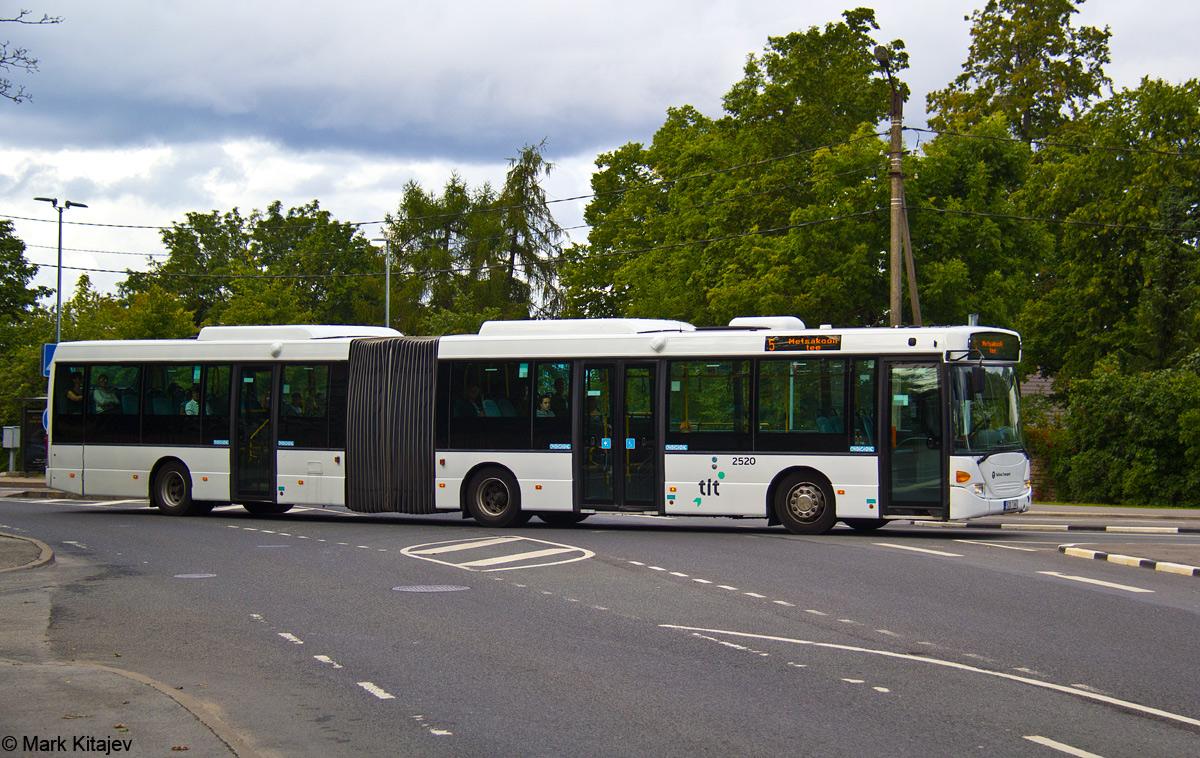 Tallinn, Scania OmniLink CL94UA 6X2LB № 2520