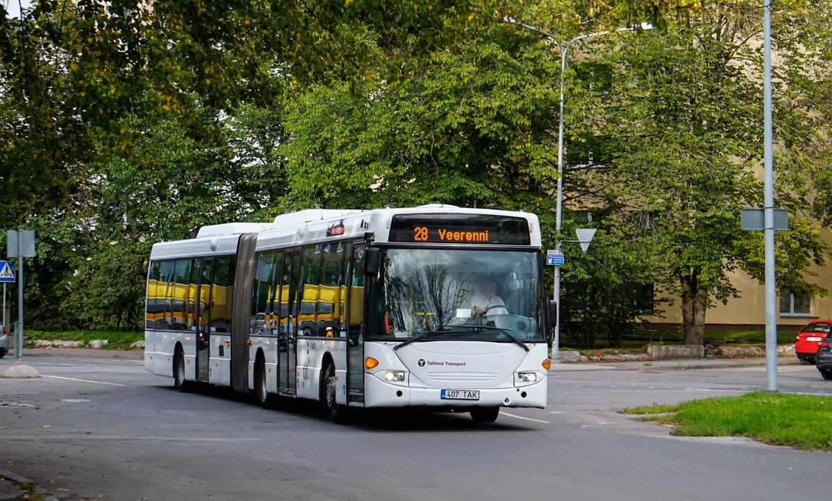 Tallinn, Scania OmniLink CL94UA 6X2LB № 1407