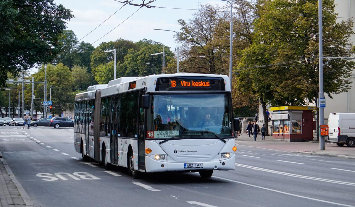 Tallinn, Scania OmniLink CL94UA 6X2LB № 1402