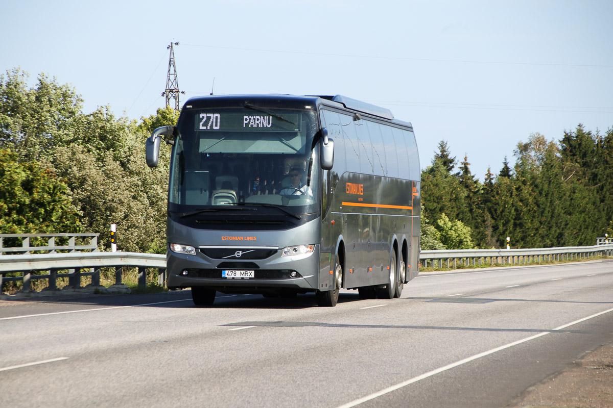 Tallinn, Volvo 9700HD UG № 478 MRX