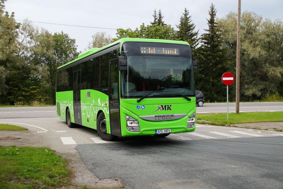 Haapsalu, IVECO Crossway Line 10.8M № 876 MRV