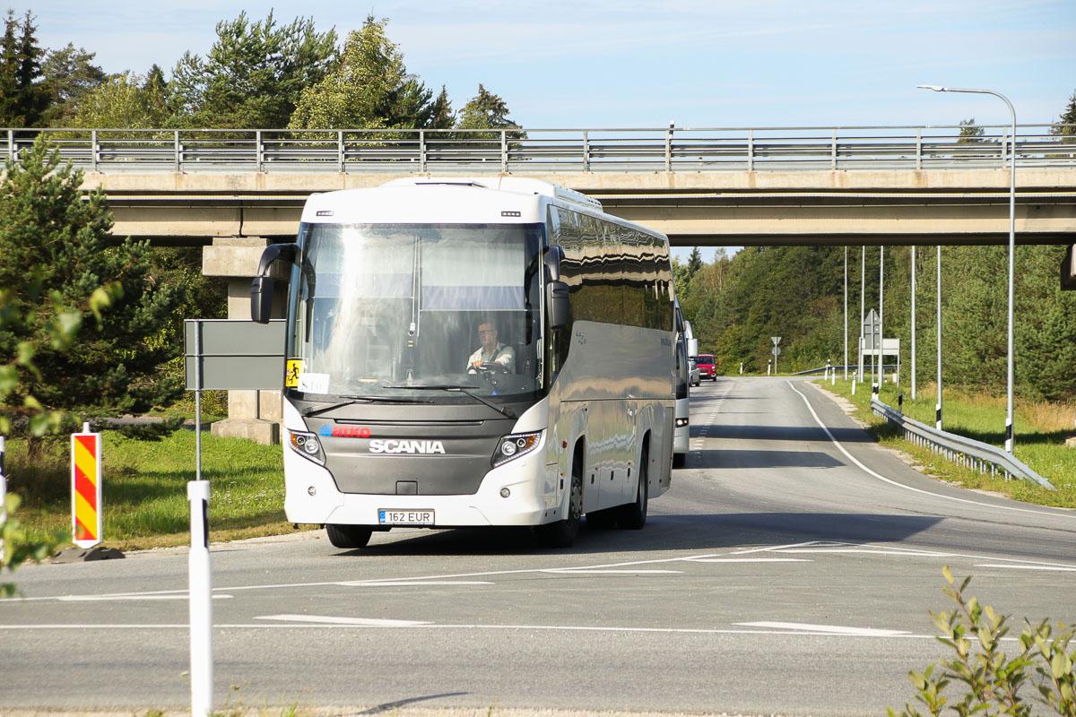Tallinn, Scania Touring HD (Higer A80T) № 162 EUR